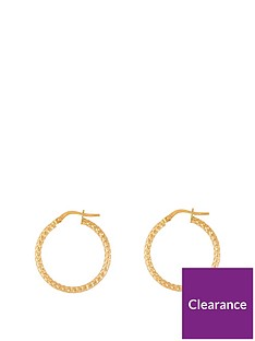 love-gold-9ct-gold-24mm-rope-effect-tube-hoop-earrings