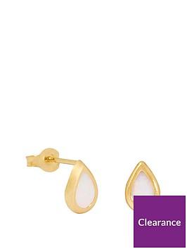 love-gold-9ct-gold-opal-teardrop-stud-earrings