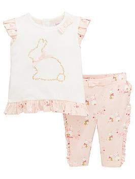 baker-by-ted-baker-baby-girls-bunnies-top-and-legging-set-pink