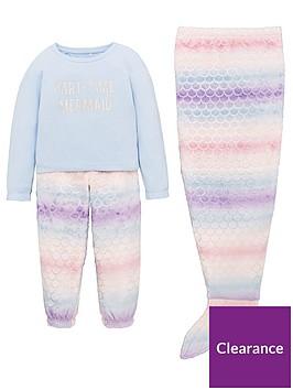 v-by-very-girls-3-piece-mermaid-snuggle-pyjama-set-multi