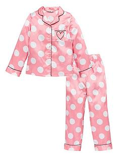 v-by-very-girls-pink-polka-dot-satin-pyjamas-pink
