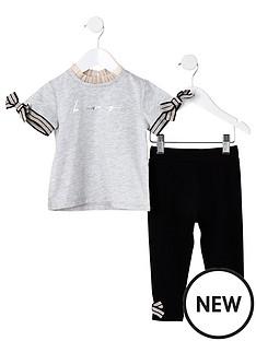 river-island-mini-mini-girls-be-amazing-t-shirt-outfit-grey