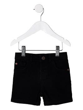 river-island-mini-mini-boys-dylan-denim-shorts-black