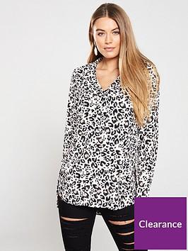 v-by-very-notched-neck-longline-blouse