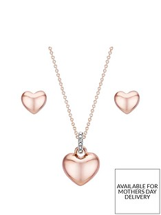 buckley-london-rose-gold-plated-cubic-zirconia-heart-earring-and-pendant-set-with-free-gift-box-and-bag