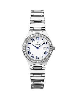 accurist-accurist-white-with-blue-detail-and-crystal-set-date-dial-stainless-steel-bracelet-ladies-watch