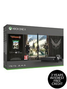 xbox-one-x-division-2-1tb-console-bundle