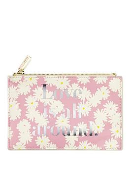 kate spade new york  Kate Spade New York Kate Spade Bridal Pencil Pouch, Love Is All Around