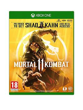 Xbox One Xbox One Mortal Kombat 11 Picture
