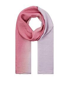 accessorize-oversizednbspsilk-ombre-scarf-purple