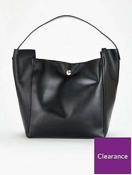 armani-exchange-logo-handle-large-tote-bag-black
