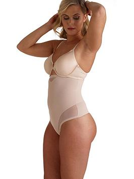 Miraclesuit   Sexy Sheer Shaping Thong - Nude
