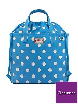 cath-kidston-small-drawstring-button-spot-tote-bag--nbspbright-blue