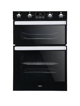 Belling   Bel Bi902Mfct 90Cm Built In Electric Double Oven With Bluetooth Connectivity - Black