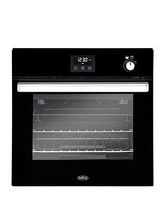 belling-bel-bi602g-60cm-built-in-single-gas-oven-black