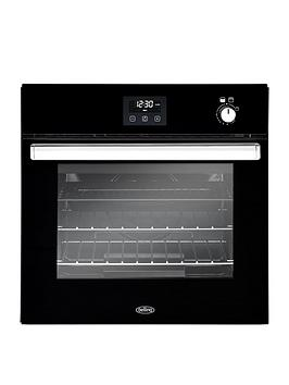 Belling   Bel Bi602G 60Cm Built In Single Gas Oven - Black