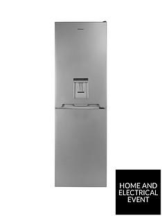 candy-cvs-1745swdk-55cm-wide-fridge-freezer-with-water-dispenser-silver