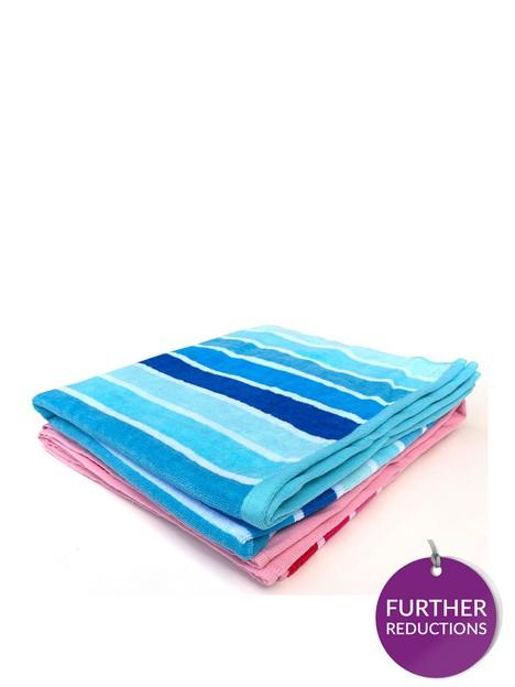 downland-stripe-beach-towel-pair