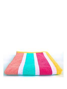 Downland Downland Candy Stripe Beach Towel Picture