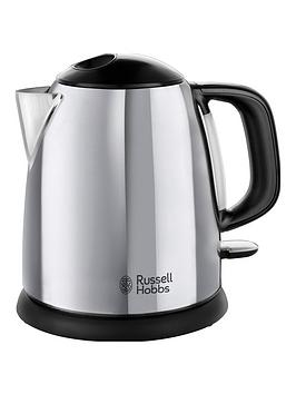 Russell Hobbs   Classic Compact Stainless Steel Kettle 24990