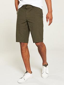 boss-slim-fit-chino-shorts-dark-green