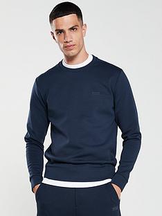 boss-salbo-x-crew-sweatshirt-navy