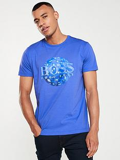 boss-graphic-print-t-shirt-blue
