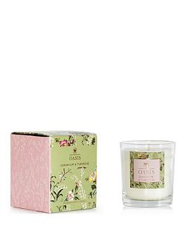 Oasis Home Oasis Home Leighton Geranium And Tuberose Boxed Candle Picture