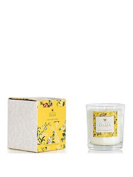 Oasis Home Oasis Home Leighton Vetiver And Iris Boxed Candle Picture
