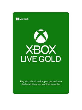Xbox One Xbox One Xbox Live Gold 12 Month Membership Card - Digital  ... Picture