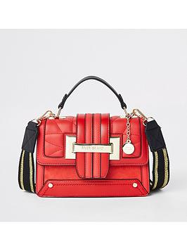 river-island-river-island-contrast-strap-handbag-red