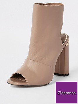 river-island-leather-shoe-boot-nude