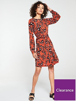 v-by-very-belted-ity-tunic-dress-animal-print
