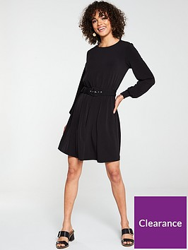 v-by-very-belted-ity-tunic-dress-black