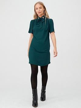 V by Very V By Very Eyelet Tunic Dress - Green Picture