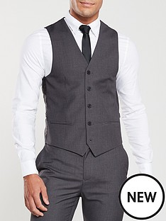 v-by-very-pv-stretch-waistcoat-charcoal