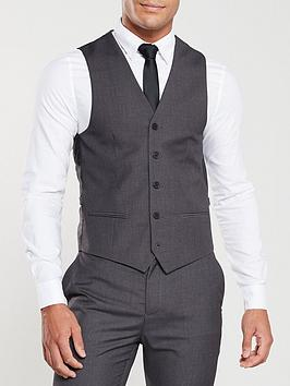 V by Very V By Very Suit Waistcoat - Charcoal Picture