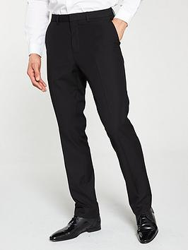 V by Very V By Very Regular Work Trousers - Black Picture