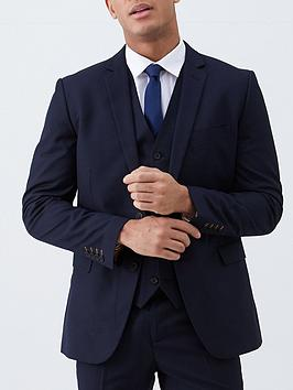 V by Very V By Very Regular Suit Jacket - Navy Picture