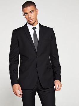 V by Very V By Very Tailored Suit Jacket - Black Picture