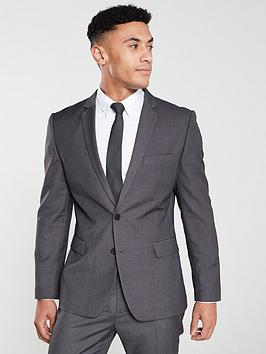 V by Very V By Very Slim Suit Jacket - Grey Picture