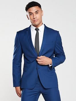 V by Very V By Very Slim Suit Jacket - Blue Picture