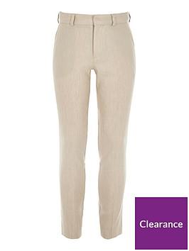 river-island-boys-linen-suit-trousers-cream