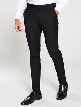 V by Very V By Very Skinny Work Trousers - Black Picture