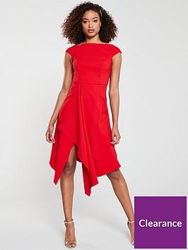 v-by-very-riviera-draped-asymmetric-hem-prom-dress-red