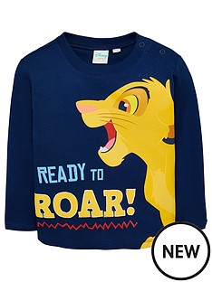 disney-the-lion-king-baby-boys-roar-t-shirt-navy
