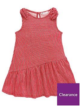 v-by-very-girls-check-tie-shoulder-dress-red