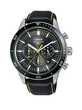 lorus-lorus-black-and-yellow-detail-chronograph-dial-black-and-yellow-stitched-leather-strap-mens-watch