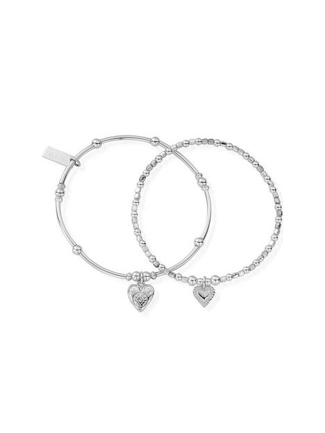 chlobo-sterling-silver-compassion-set-of-2-bracelets