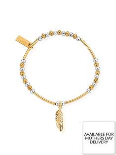 chlobo-chlobo-gold-plated-sterling-silver-filigree-feather-bracelet